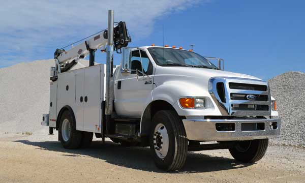2015 Ford F-750 Service Truck