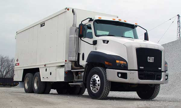 Service Truck Hall of Fame CAT CT660 IMT Lube Truck