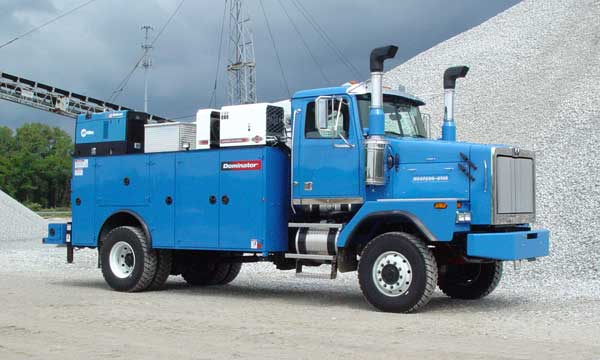 Service Truck Hall of Fame Blue Western Star