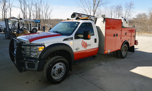 2015 Ford F550 Service Truck