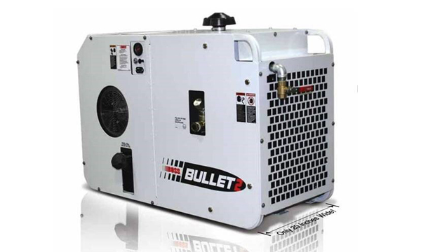 service truck Boss Bullet Rotary Screw Air Compressor