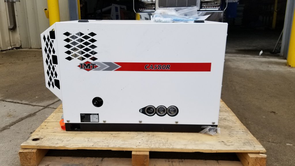 service truck CAS80R Air Compressor