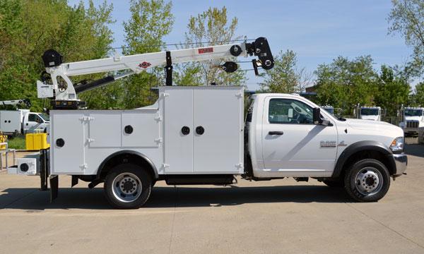 service truck 2017 RAM 5500 Service Truck