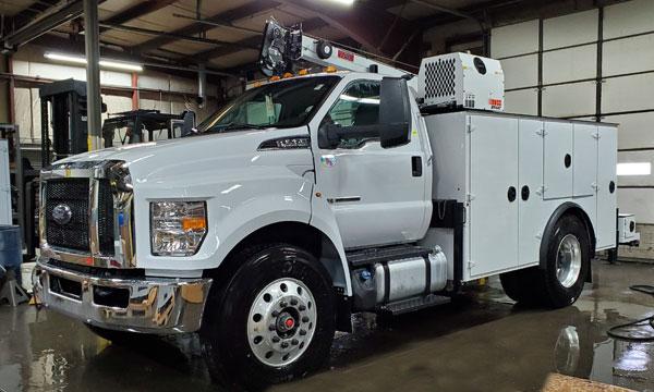 service truck 2019 Ford F750 Service Truck