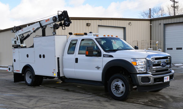 service truck 2016 F550 Extended Cab Dominator 1