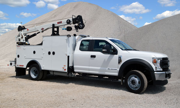 ford f550 extended cab service truck