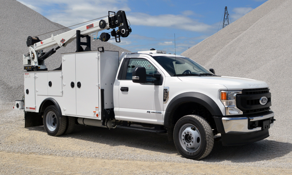 service truck 2020 Ford F550 Service Truck 4x4 - A00855