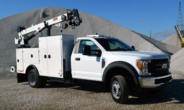 service truck 2019 Ford F550 Service Truck