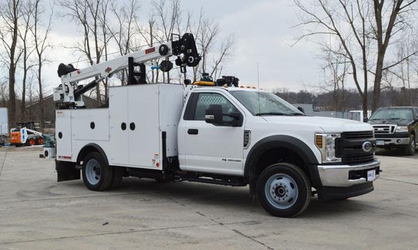 service truck 2019 Ford F550 4x4 Service Truck
