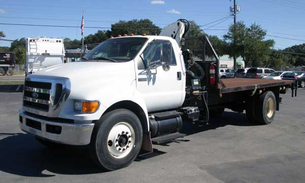 service truck 2009 F-750 Flatbed