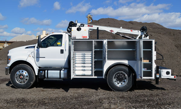 ford f750 service truck