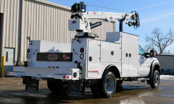 service truck 2015 F550 4x4 Dominator 1 - 7500 Crane