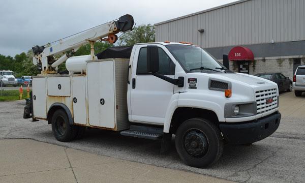 service truck 2007 GMC Topkick Service Truck - 416106