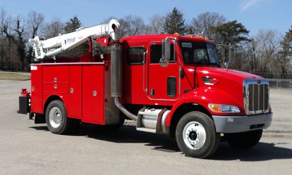 peterbilt refurbished service truck