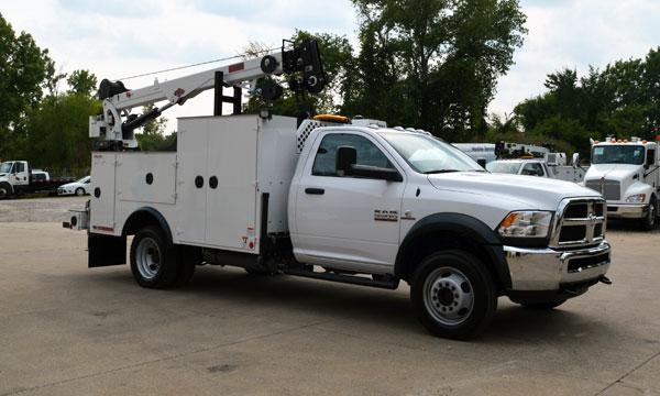 service truck 2022 RAM 5500 4x4 Service Truck