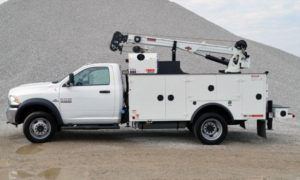 ram service truck