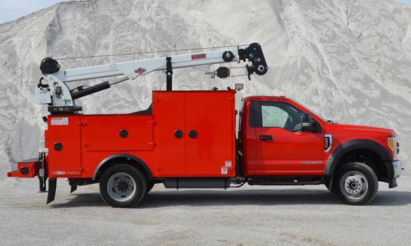 service truck 2020 F550 4x4 Dominator I Service Truck