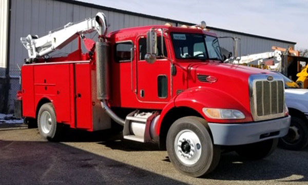 refurbished peterbilt service truck
