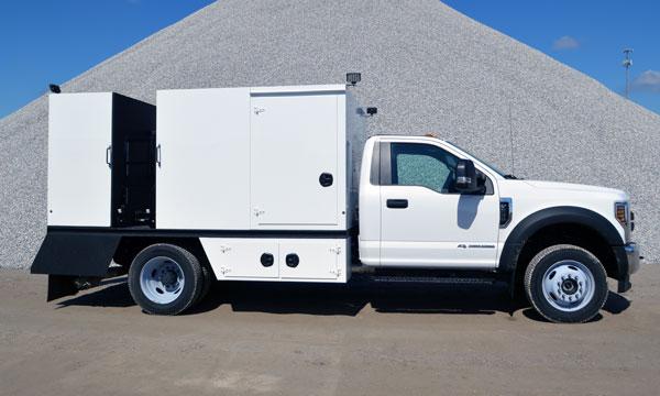 service truck TORKT® Mini Lube Truck