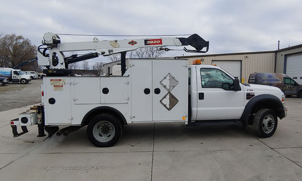 service truck 2008 Ford F550 Service Truck