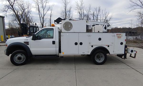 used 2008 f550 service truck