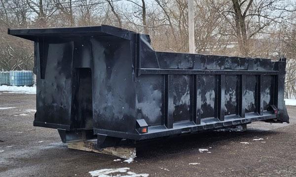 service truck USED 15' Dump Body