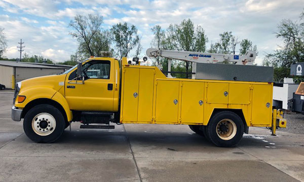 used ford f750 service truck