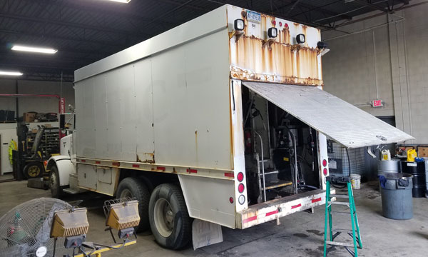 used lube truck