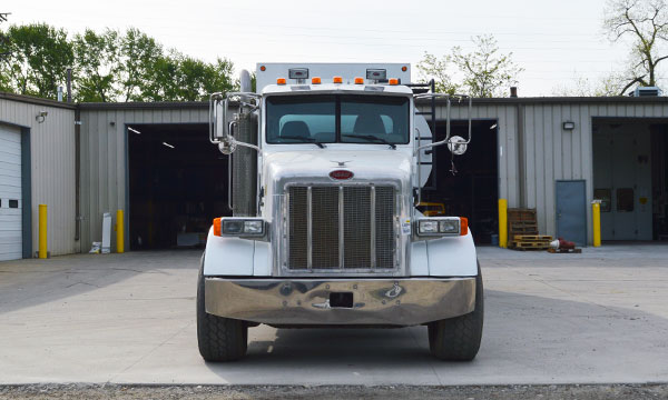 used peterbilt fuel lube truck