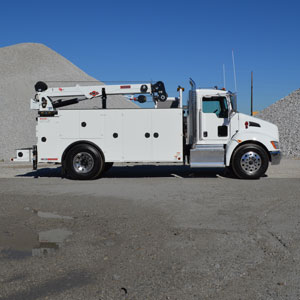 mechanic service truck, IMT