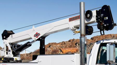 IMT 10000 telescopic crane winch
