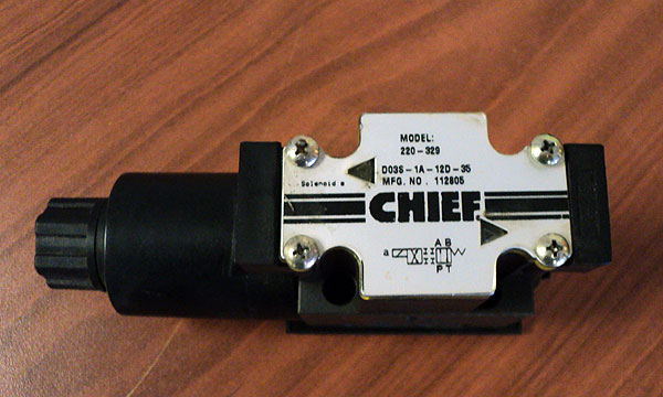 directional solenoid valve