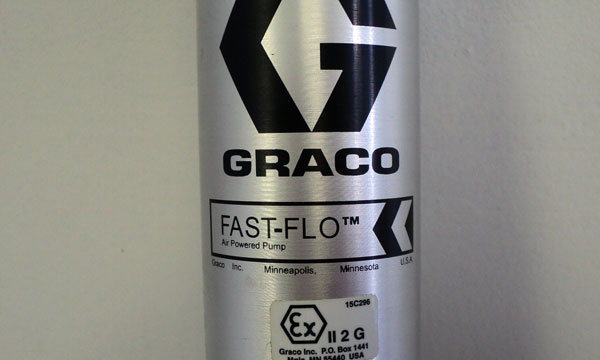Graco Fast Flow Air Powered Pump