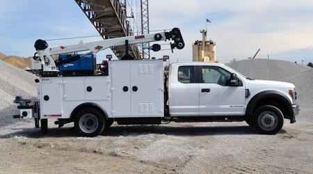 rental service truck